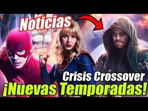 NOTICIAS: ¡The Flash Temporada 7! Crisis Poster, Oliver Spectre y ¿NUEVA REALIDAD?
