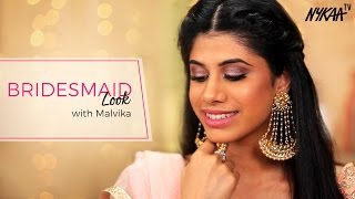 Bridesmaid Makeup Look | Malvika Sitlani