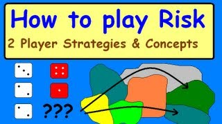 How to play Risk-2 Player Strategies-Tutorial.