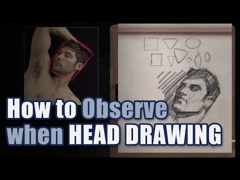 How to Observe When Head Drawing