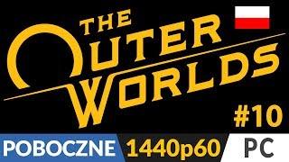 The Outer Worlds PL  #10 poboczne  Monarch na 100% (prawie)   Gameplay po polsku