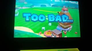 Mario and luigi paper jam bros papercraft gameover