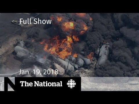 WATCH LIVE: The National for January 19, 2018 - Lac-Mégantic, Bruce McArthur, Government Shutdown