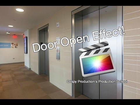 How to do the Open Door Transition in Final Cut Pro X