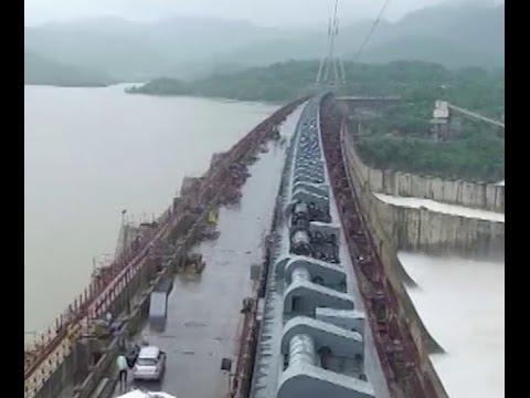 Narmada Dam Drone Video