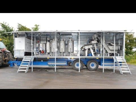 Mobile Fruit Juice Processing Plant