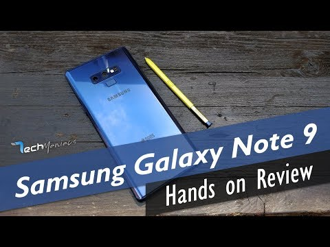 Samsung Galaxy Note 9 Hands on Review [Greek]