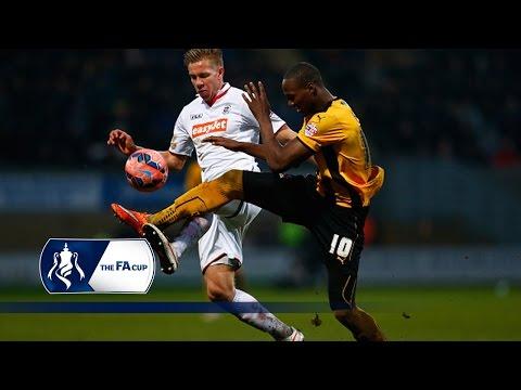 Cambridge 2-1 Luton - FA Cup Third Round | Goals & Highlights