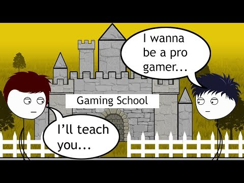 What it feels like to join a Gaming School PART 1