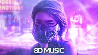 8D Audio 2021 EDM Mix ♫   Use Headphones   8D Songs 🎧