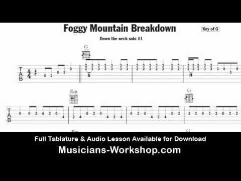 Foggy Mountain Breakdown Guitar Lesson