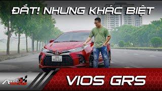 Đánh giá Toyota Vios GR-S: Đắt sắt ra miếng???