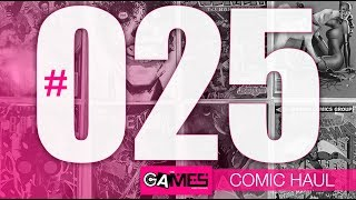 GAMES Comic Book Haul #025 -  Key Issues + Stealth Buys + AOK from TCCH
