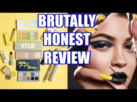 BRUTALLY HONEST KYLIE COSMETICS - THE WEATHER COLLECTION REVIEW | Jordan Byers