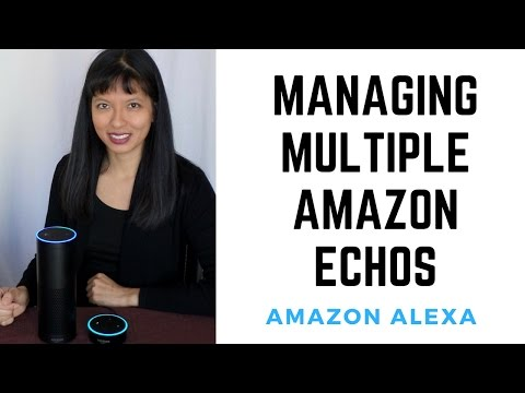 Managing Multiple Amazon Echos Part 1: Basics