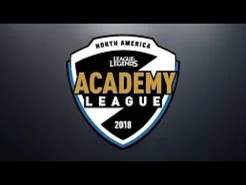 100A vs CLGA   Week 5   NA Academy Spring Split   100 Thieves Academy vs  CLG Academy 2018