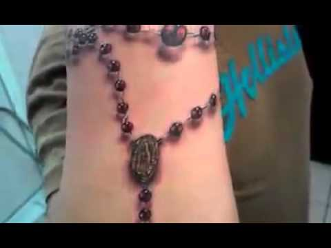 El Mejor Tatuaje De Rosario En 3d Youtube