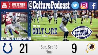 Week 2 Recap: Colts (21) @ Redskins (9) | Darius Leonard 18 Tackles, Sack, Forced Fumble #MANIAC