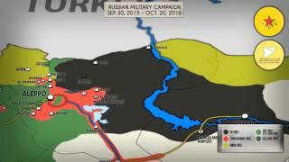 Военная операция России в Сирии. 30 сентября 2015 - 20 октября 2016. Русский перевод.(30 сентября 2015 года Россия объявила о начале антитеррористической операции в Сирии, после чего российские..., 2016-10-22T19:39:45.000Z)