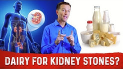 Should You Take Eat Dairy (calcium) with Kidney Stones?