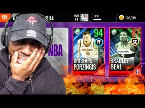INSANE TOTW PACK OPENING w/NEW PORZINGIS! NBA Live Mobile 18 Gameplay Ep. 12
