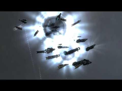 Eve Online: Solar Fleet and Intrepid Crossing hot drop Pandemic Legion