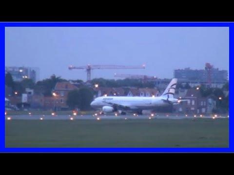 [Belgium News] An unusual sight at antwerp airport