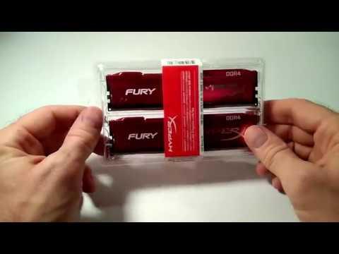 Оперативная память HyperX DDR4-2666 16384MB PC4-21300 (Kit of 2x8192) Fury Red (HX426C16FR2K2/16)