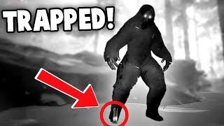 WE TRAPPED BIGFOOT!  SECRET Yeti Cave!?  (Bigfoot 2.0 Update Gameplay)