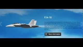 Aero Vodochody production (L-159, parts Sikorsky S-76, Spartan, Gripen, Embraer, F/A-18 S. Hornet)