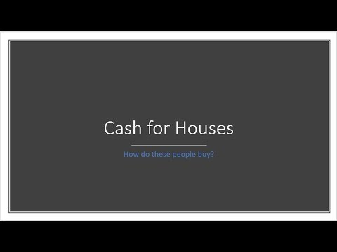 How Cash for Houses in Kansas City Works