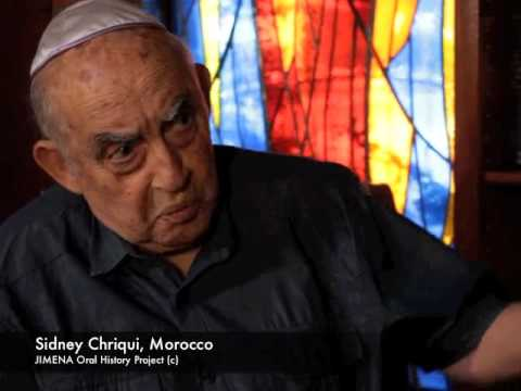 Ben-Gurion Archives and JIMENA: Sidney Chriqui of Morocco