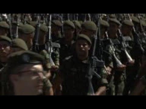 Brazil's president attends military ceremony