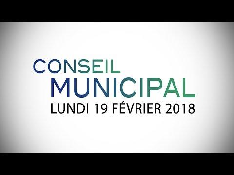 CONSEIL MUNICIPAL DU 19 FÉVRIER 2018