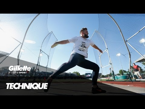 How To Throw The Perfect Discus | Gillette World Sport