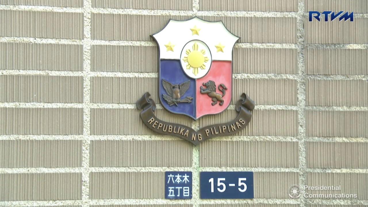 Philippine Embassy in Roppongi, Japan 10/26/2017
