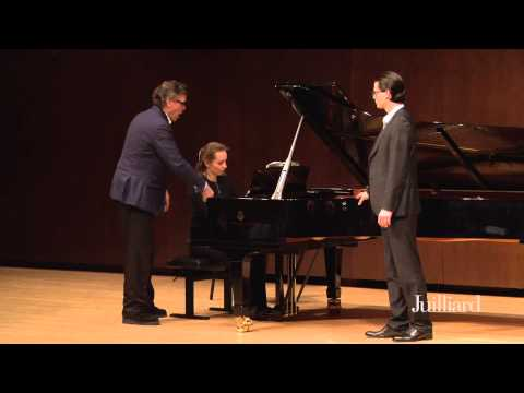 Thomas Hampson Master Class, January 28, 2015: William Goforth & Valeriya Polunina