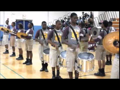 BTW BAND PERFORMING AT CADDO MIDDLE CAREER AND TECHNOLOGY SCHOOL