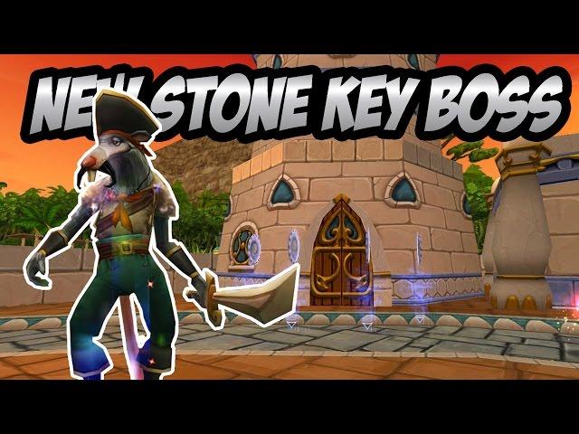 Wizard101: NEW Stone Key Boss - Captain Hockins