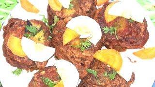 ডিম আলুর টিকিয়া রেসিপি     Aloo Tikki  Recipe    Potato Egg Kabab    স্পেশাল ডিম আলুর চপ