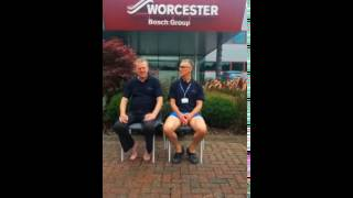 Carl Arntzen and Martyn Bridges' ice bucket challenge Thumbnail