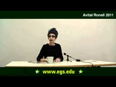 Avital Ronell. Laws of Encounter: The Greeting. 2011 - YouTube