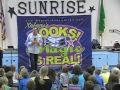 "Excerpts from Xakary's school assembly show ""Books! The Magic is Real!"""
