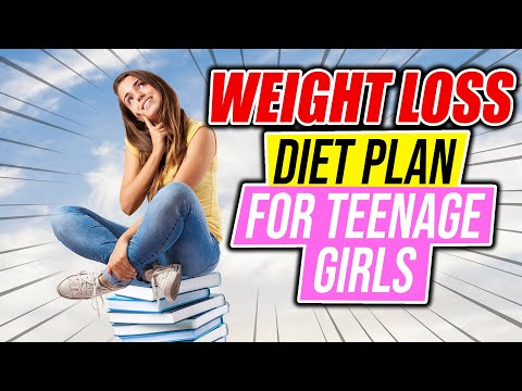 Weight loss diet plan for teenage girls in Hindi | Lockdown Diet Plan | Teenagers weight loss diet