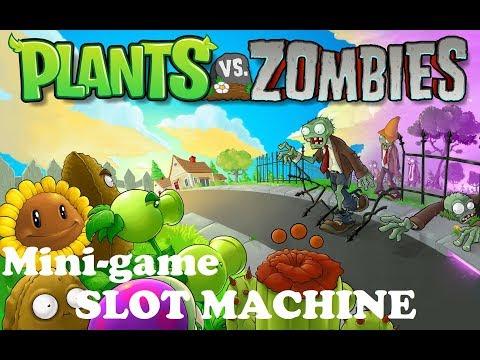 Plants vs. Zombies Mini-game: SLOT MACHINE - 동영상
