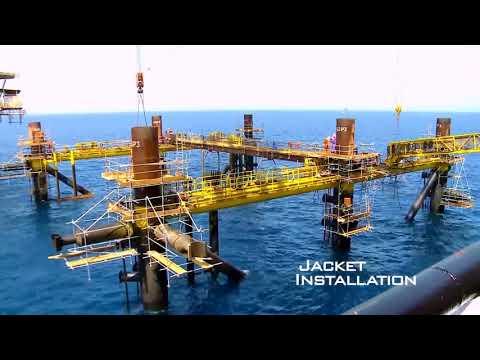 Offshore Platform Installation  Geociences Marines
