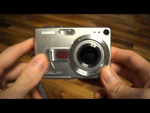 Review digital camera Casio Exilim exz50 z50 EX-Z50