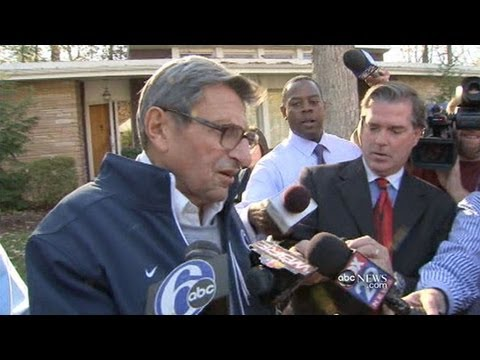 Joe Paterno Faces Growing Penn State Scandal