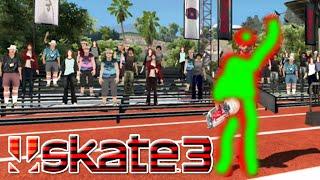 new custom skate 3 skater x7 albert