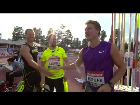 Thomas Röhler 89,27 Kuortane Finland HD